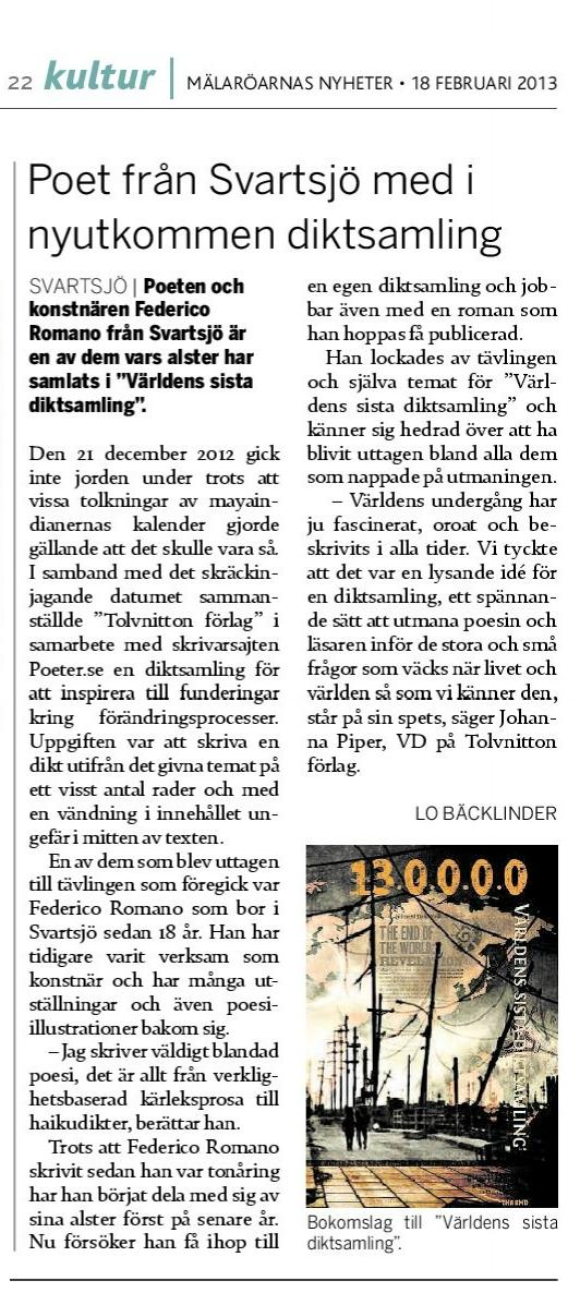 Press_Malaroarnas_Nyheter_Varldens_sista_diktsamling