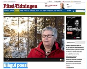 Piteåtidningen 20141216_sverige_poesimotrasism_bild