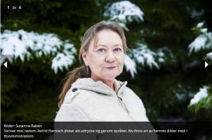 Astrid Harnisch i Härryda-Posten